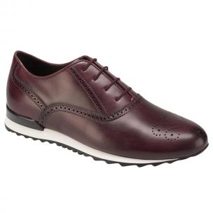 Bacco Bucci Keylor Sneakers Burgundy Image