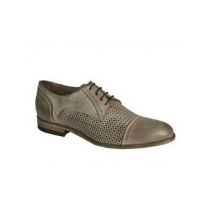Bacco Bucci Manfred Cap Toe Shoes Gray Image