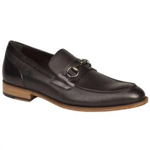 Bacco Bucci Mossi Shoes Black Image
