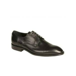Bacco Bucci Nacho Cap Toe Shoes Black Image