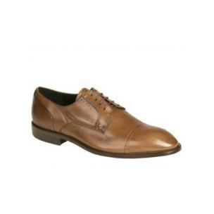 Bacco Bucci Nacho Cap Toe Shoes Tan Image