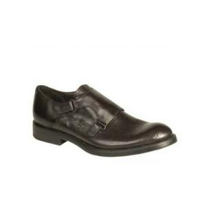 Bacco Bucci Pace Double Monk Strap Shoes Black Image
