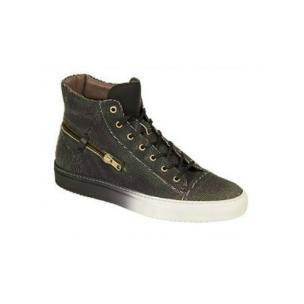 Bacco Bucci Teo High Top Sneakers Black Image
