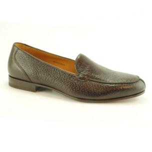 Baker Benjes Wilbur Peccary Loafers Brown Image