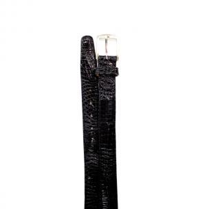 Belvedere Crocodile Belt Black Image