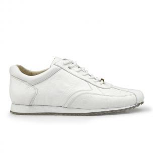 Belvedere Dayton Ostrich Leg Sneakers White Image