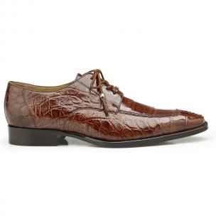 Belvedere Lorenzo Alligator Shoes Peanut Image