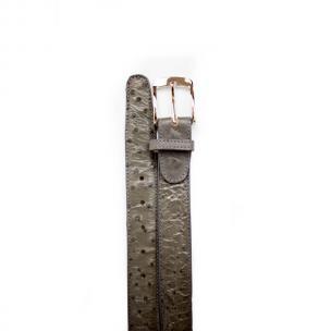 Belvedere Ostrich Quill Belt Gray Image