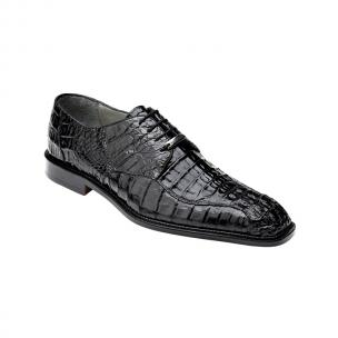 Belvedere Chapo Hornback Lace Up Shoes Black Image