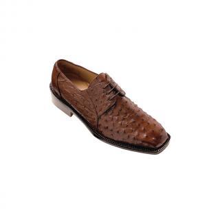 Belvedere Fabio Ostrich Shoes Brown Image