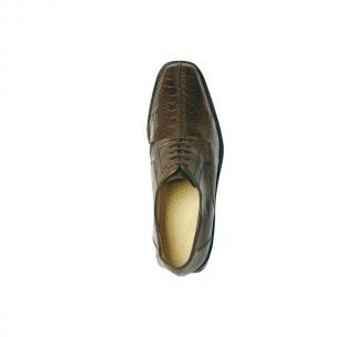 Belvedere Marco Split Toe Ostrich Shoes Brown Image
