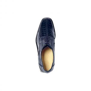 Belvedere Marco Split Toe Ostrich Shoes Navy Image