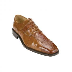 Belvedere Mare Ostrich/Eel Shoes Camel Image