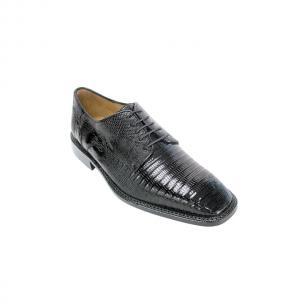 Belvedere Olivo Lizard Shoes Black Image