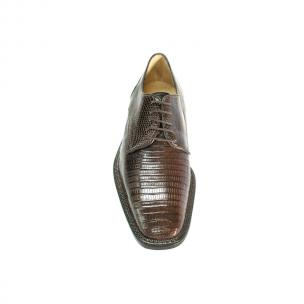 Belvedere Olivo Lizard Shoes Brown Image