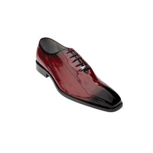 Belvedere Stella Eel Lace Up Shoes Antique Scarlet Red Image
