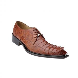 Belvedere Zeno Hornback Shoes Antique Cognac Image