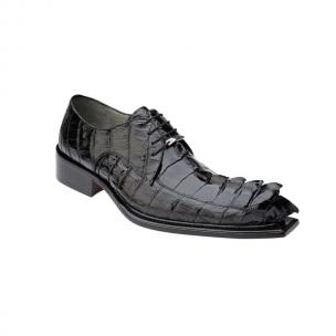 Belvedere Zeno Hornback Shoes Antique Black Image