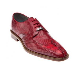Belvedere Topo Hornback & Lizard Shoes Red Image