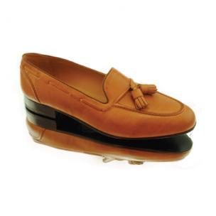 Baker Benjes Parker Calfskin Tassel Loafers  Image