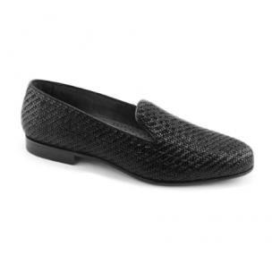 Baker Benjes Simpson Woven Shoes Black Image