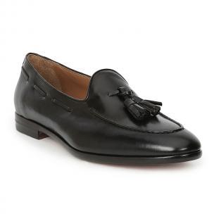 Bruno Magli Ali Tassel Loafers Black Image