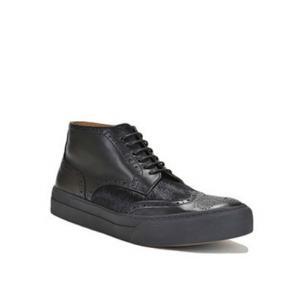 Bruno Magli Angelo Calfskin Sneakers Black Image