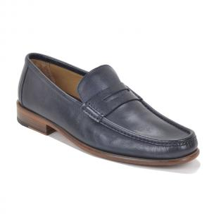 Bruno Magli Bricco Penny Loafers Navy Image
