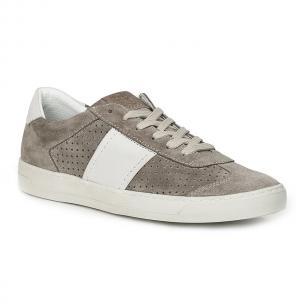 Bruno Magli Dario Suede Sneakers Taupe Image