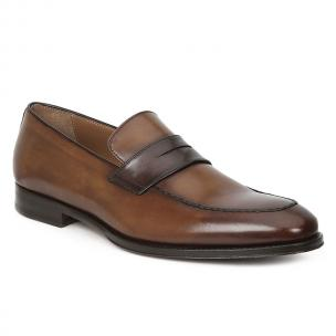 Bruno Magli Fanetta Penny Loafers Cognac / Dark Brown Image