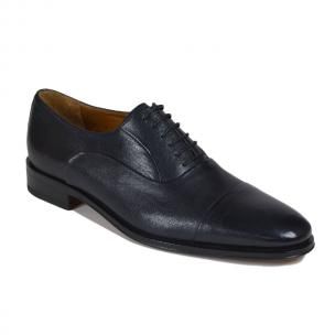 Bruno Magli Maioco Nappa Cap Toe Shoes Navy Image