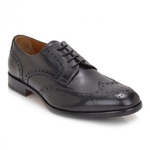 Bruno Magli Parma Full Round Toe Oxford Black Image