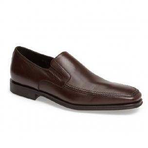 Bruno Magli Raging Nappa Slip On Brown Image