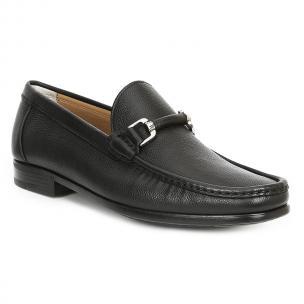 Bruno Magli Salento Bit Loafers Black Image