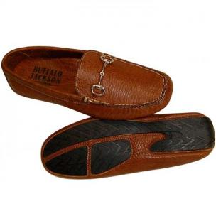 Buffalo Jackson Laramie Tumbled Bison Driving Loafers Bison Image