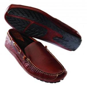 Buffalo Jackson Vail Driving Shoes Red Rock Image
