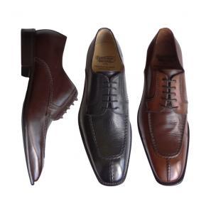 Calzoleria Toscana 3796 Calfskin & Deerskin Split Toe Shoes Image