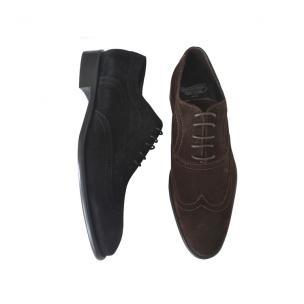 Calzoleria Toscana 5607 Suede Wingtip Shoes Image