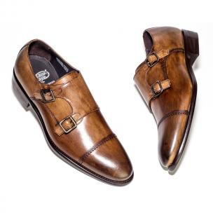 Calzoleria Toscana 6582 Monk Strap Shoes Brown Image