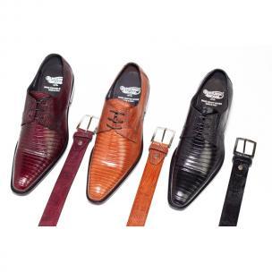 Calzoleria Toscana 7167 Lizard Shoes Image