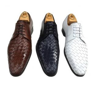 Calzoleria Toscana 8682 Woven Derby Shoes Image