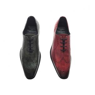 Calzoleria Toscana 8712 Wholecut Wingtip Oxfords Image