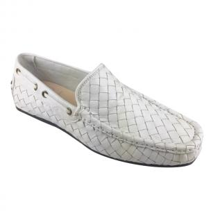 Calzoleria Toscana A748 Woven Loafers White Image