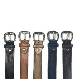 Calzoleria Toscana C3064 Vintage Calfskin Belts Image