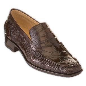 Caporicci 940 Alligator Loafers TD Moro Image