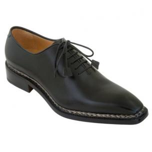 Caporicci 1400 Norwegian Stitch Oxfords Black Image