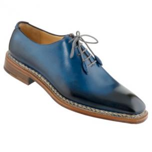 Caporicci 1400 Norwegian Stitch Oxfords Blue Image