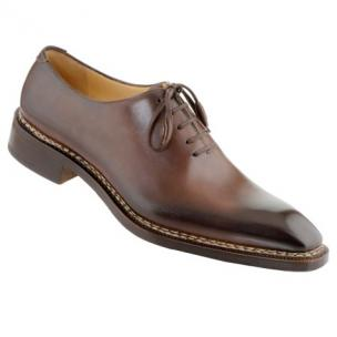 Caporicci 1400 Norwegian Stitch Oxfords Dark Brown Image