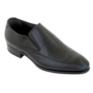 Caporicci 9920 Wingtip Loafers Black Image