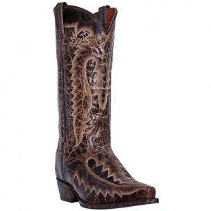 Dan Post Atticus DP3612 Leather Boots Chocolate Image